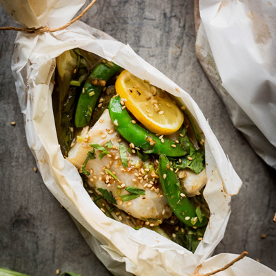 MISO COD IN PAPILLOTE